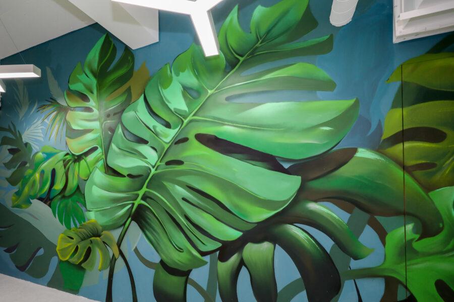 2F塗鴉牆